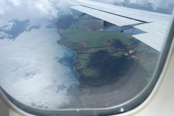Aterrizando en Mauricio