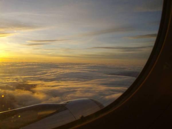 Mi primera vez en avión