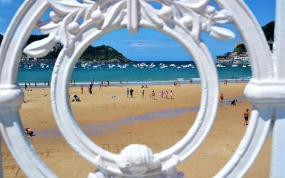 Playa de la Concha, qué ver en San Sebastián