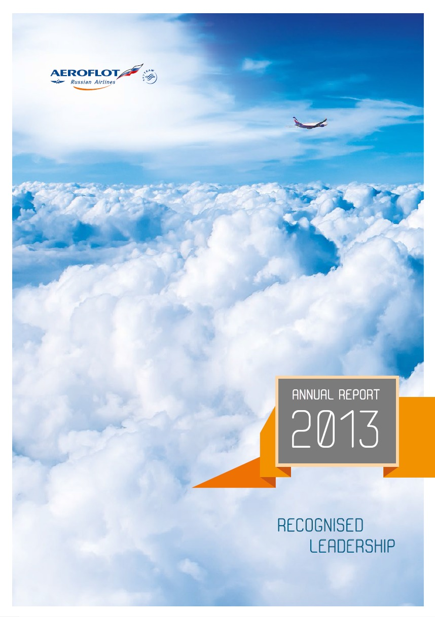 Design Bureau Llc Lacp 2013 Vision Awards Annual Report Competition Aeroflot
