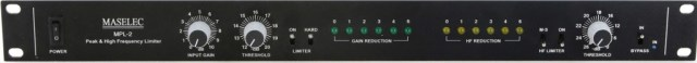 Maselec MPL-2 Peak & High Frequency Limiter