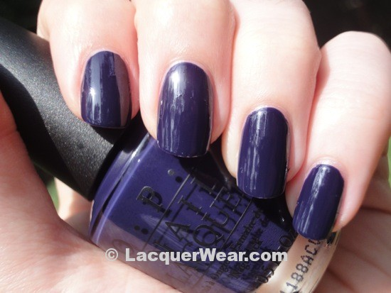 Opi Touring America Road House Blues Swatch And