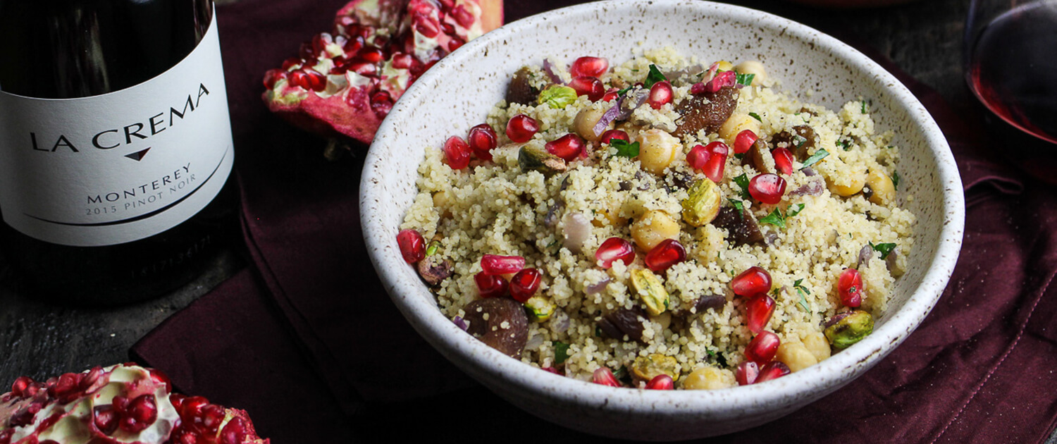 Cuisine Royale Brightness Royal Couscous With Apricots And Pistachios