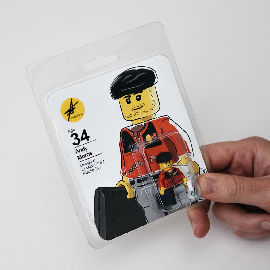 este dise u00f1ador lo peta con un original curr u00edculum de lego