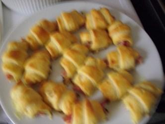 Croissants au jambon et à la moutarde 5