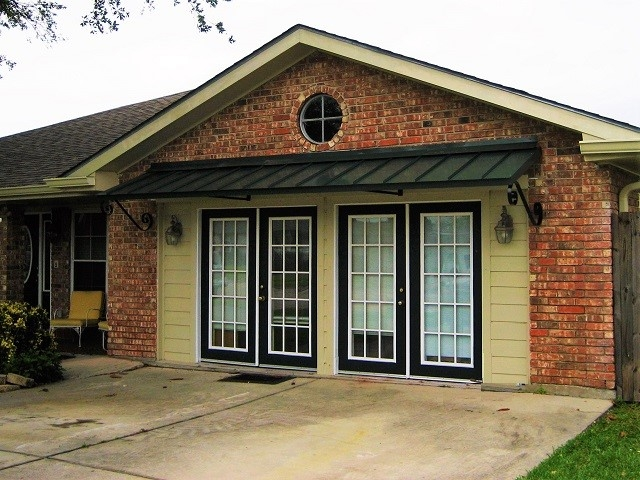 Houzza Residential Metal Awnings | La Custom Awnings