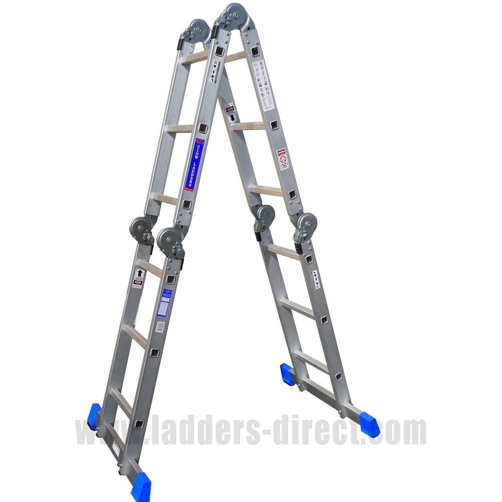 Aluminium Trestles Clow Folding Multi Function Ladder Direct From The Clow Group