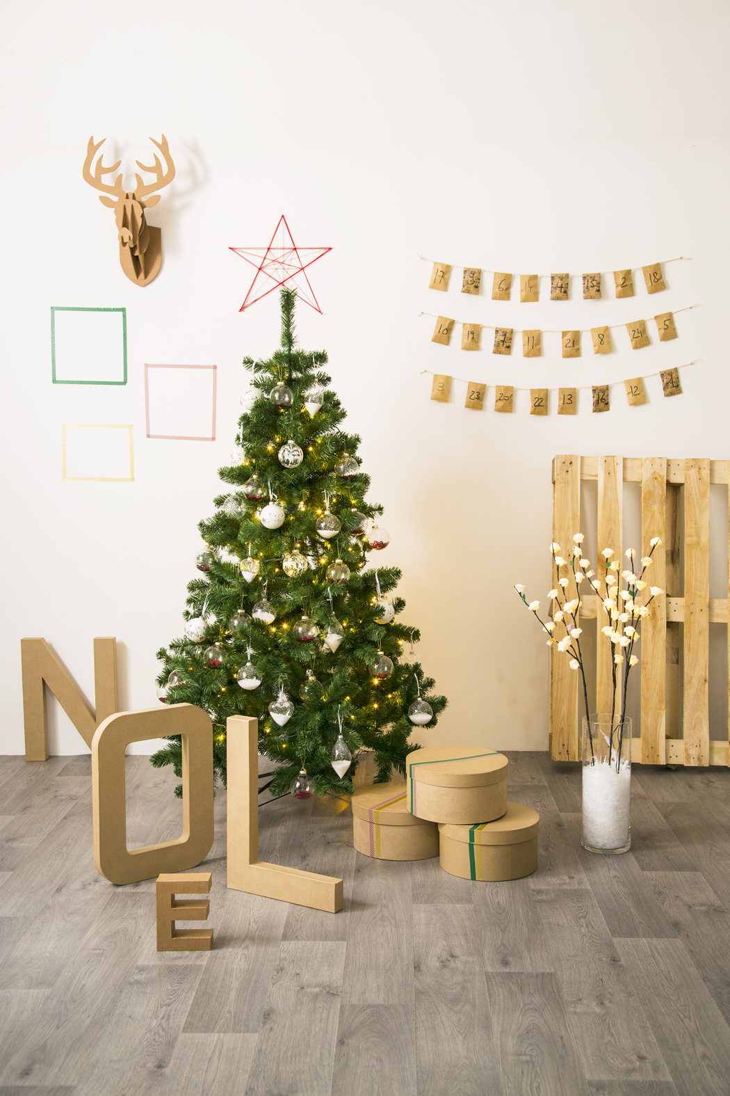 Deco Noel Jardiland Stylisme Noel Do It Yourself Pour Jardiland La Decorruptible