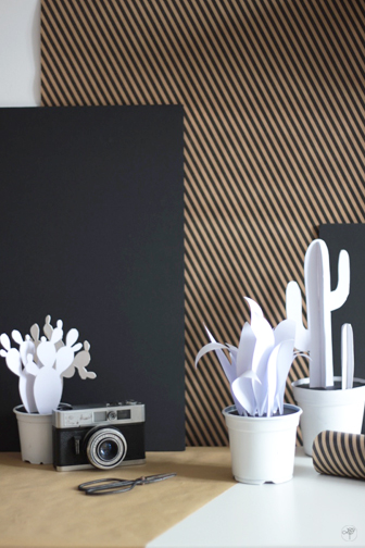 diy des cactus graphiques en papier la d licate parenth se diy d co et inspiration d co. Black Bedroom Furniture Sets. Home Design Ideas