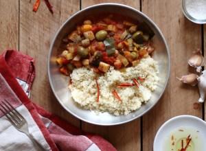 Légumes racines méditerranéenne tomate olives