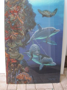 Carey Chen and Gary Sackel Art on Glass Value $700+