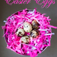 Rococo Praline filled Eggs for Easter - Recipe and How to