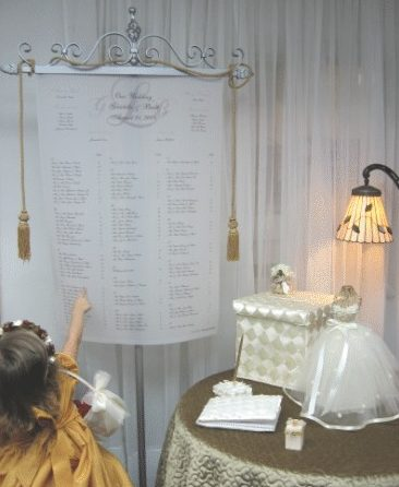 Wedding Seating Charts  Consultation Services - Detroit-Metro, MI