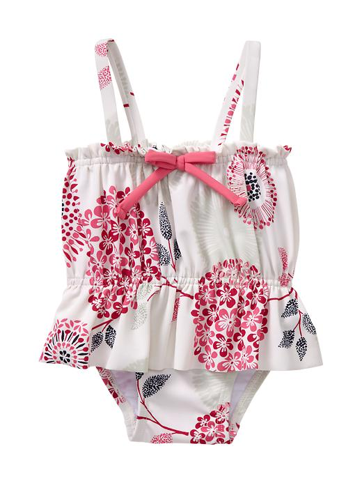 Frilly And Sweet Adorable Infant Girl Bathing Suits Under - Newborn Bathing Suits 3 Months Girl