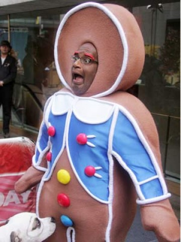 In a cruel twist of fate, Al also shit in this gingerbread man costume and was found out by this dog....
