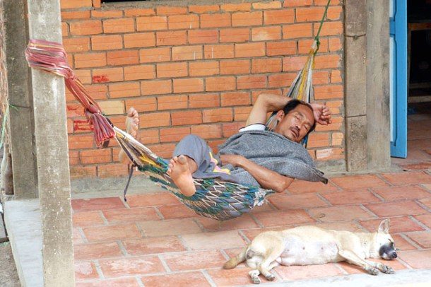 So when I get older the plan is for this guy to hit the road and my bladder to hang in this hammock and relax...