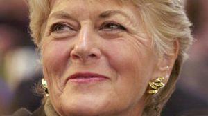 While Geraldine Ferraro was doing great things for women - her undereye area took a real beating...