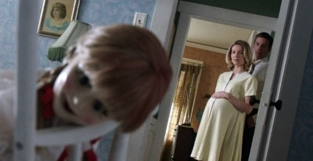 """""""It's just a doll...it's fake....just don't think about it..."""" I said. """"Plus you don't have any dolls so you are safe."""""""
