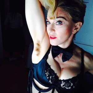Madonna-Shares-Her-Hairy-Armpit-With-Fans