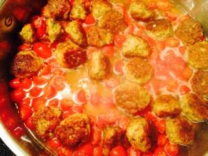 tomatos meatballs