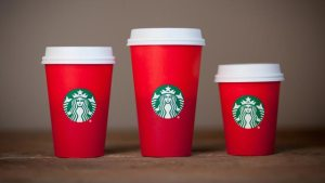 Here is the 2015 Starbucks red cup. Otherwise known as a papercup from the devil.