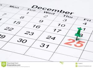 Why can't you believe it? You have a calendar. You knew this day was coming for 364 days.