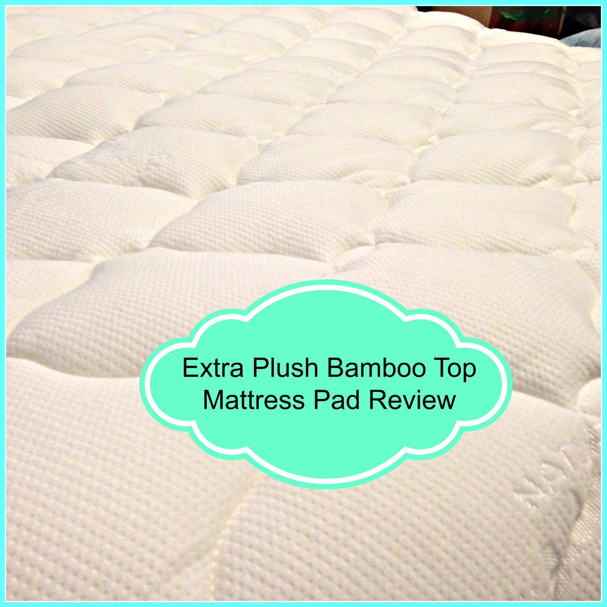 Bamboo Mattress Topper Review Mr Sandman Bring Me Dream Bamboo Top Mattress Pad