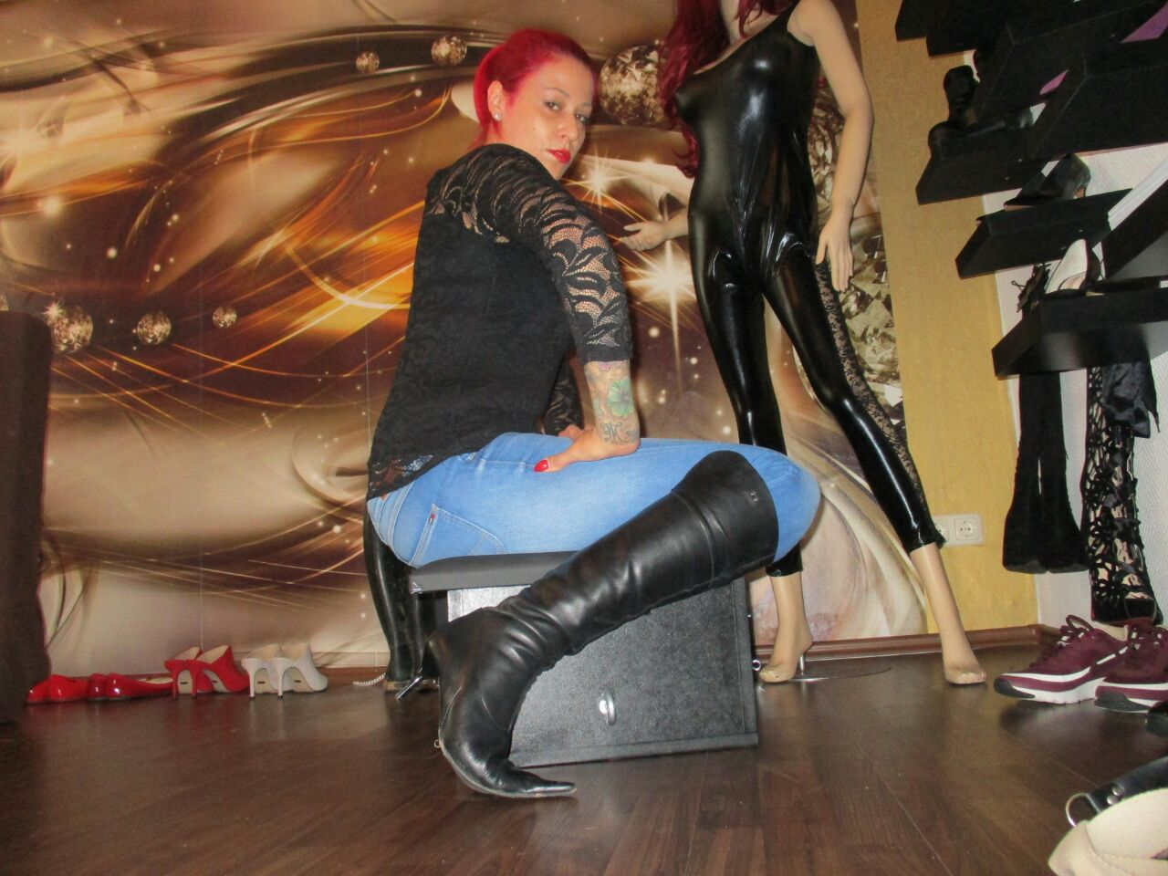 Amazon Jeans Lady Mira Aus Hannover - Facesitting