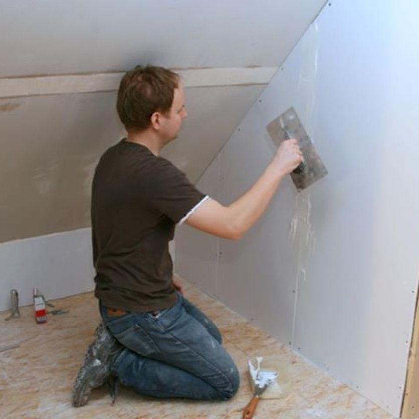 Das Heimkino entsteht auf dem Dachboden - das hatten wir uns schon in der Phase der Grundrisszeichnung unseres Hauses so überlegt.