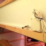 ...Sicherheitsgründen sollten möglichst alle Stecker und Kabel...