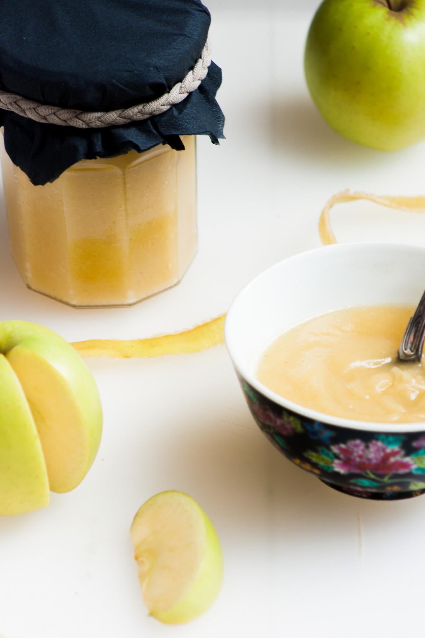 Compote maison pomme cannelle la faim est proche - Temps de conservation compote maison pour bebe ...