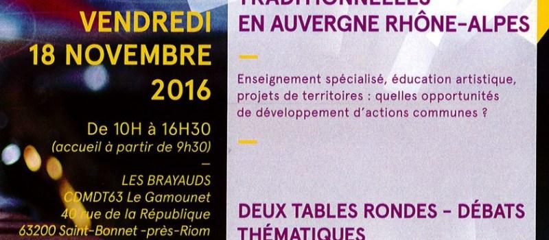 Journées débat «TRANSMISSION» au Gamounet