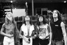 Here is a picture of Metallica at their old place in El Cerrito, California