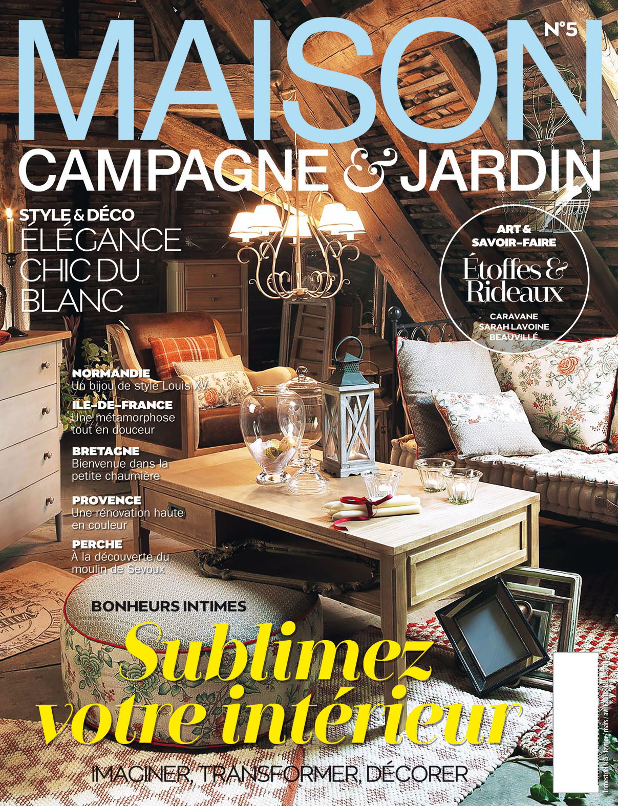 Style Campagne Magazine Maison Campagne Et Jardin N05