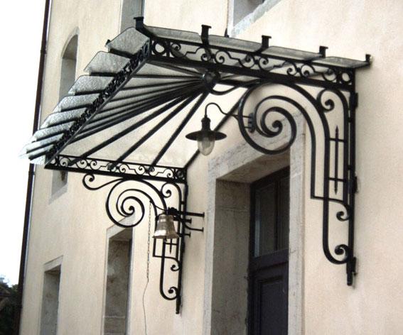 Deurluifel in smeedwerk - SUCH A MAGNIFIQUE WAY TO u0027DRESS UPu0027 THE - decoration pour porte d interieur