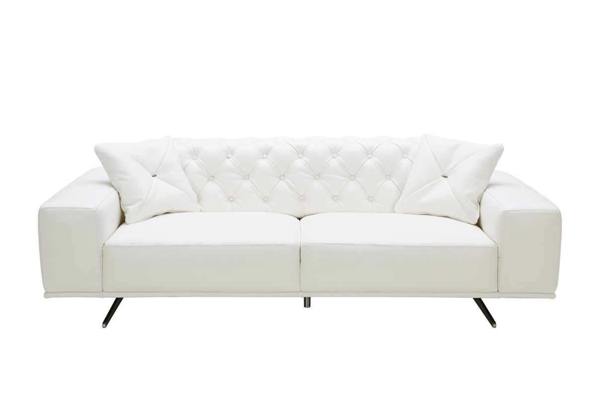 Leather Couch Canada White Leather Sofa Canada