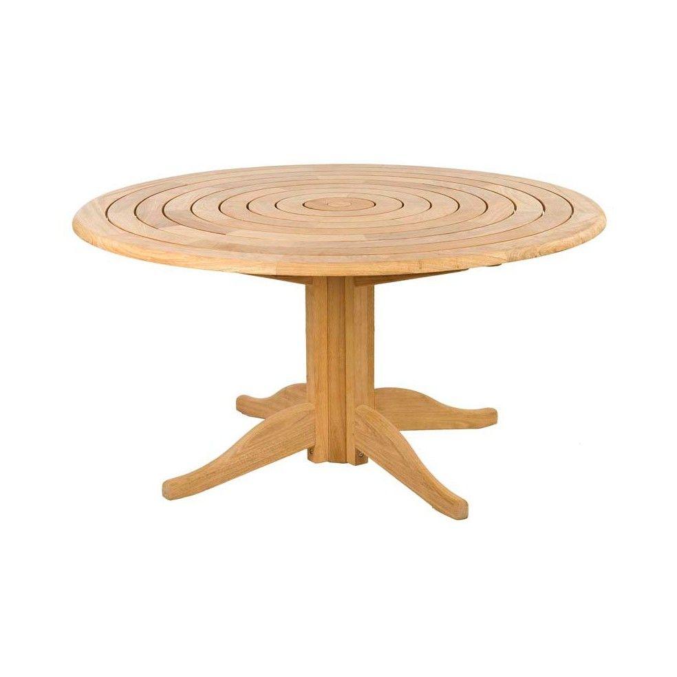 Table Jardin Bois Ronde | Table Ronde Pliante Bois Nouveau Table En ...
