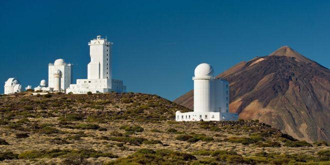 Visita al Observatorio del Teide