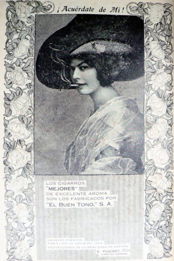 06 Publicidad femenina de El Buen Tono. Foto INAH