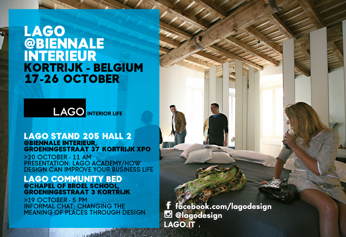 Design Interieur Job At The Biennale Interieur Kortrijk 2014 Lago Is Rewriting The