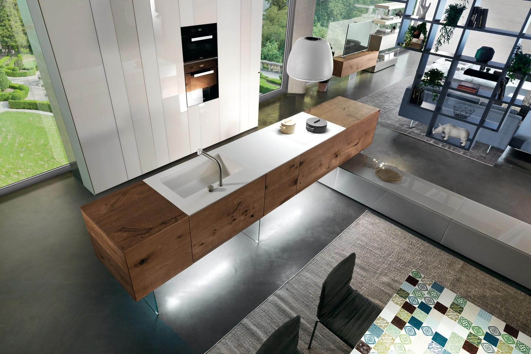 Cucina The Kitchen Company 36e8 Kitchen A Modular Kitchen Tailored To Your Space Lago Design