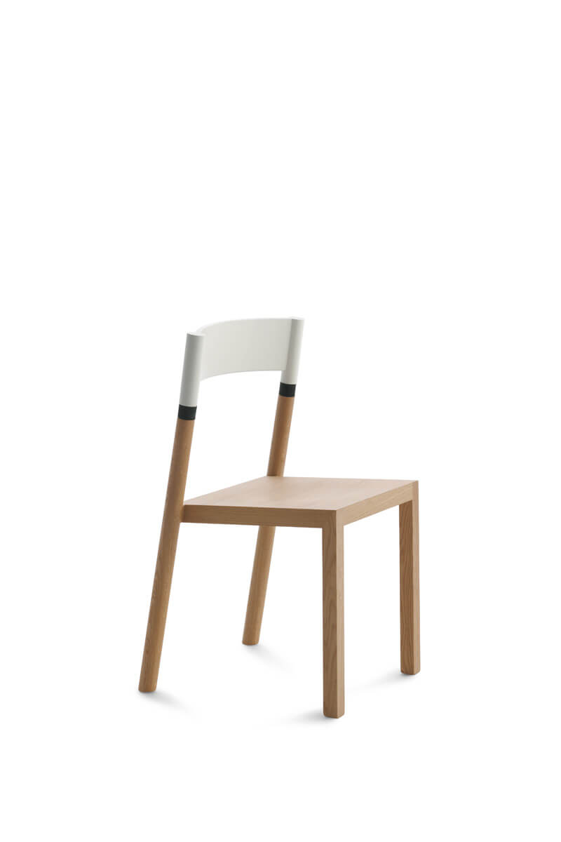 Sedia Husk B&b Sedia Husk B B Contemporary Chair Upholstered With Armrests Sled