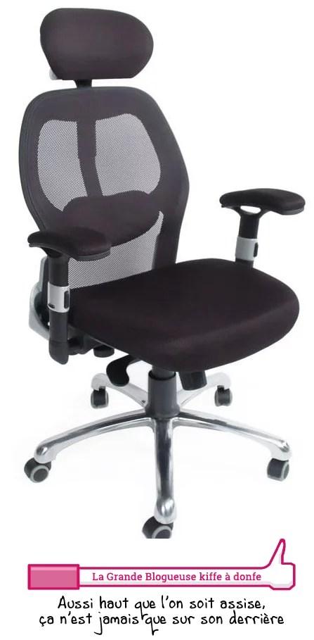 fauteuil ergonomique miliboo v2 plus la grande blogueuse site pour femmes. Black Bedroom Furniture Sets. Home Design Ideas