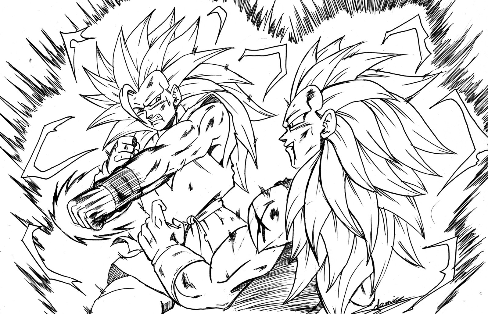 Coloring Pages Of Dragon Ball Z Characters - Eskayalitim