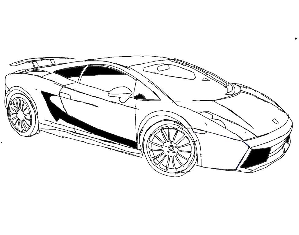 Lamborghini Color Pages - Eskayalitim