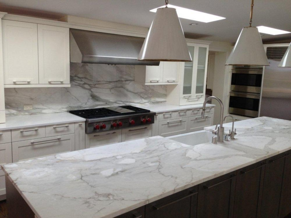Marble Kitchen Marble Countertops - Laguna Kitchen And Bath Design And