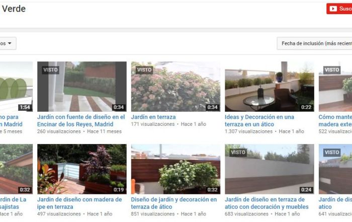 paisajistas en youtube