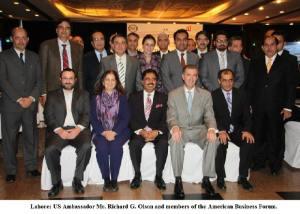 US Ambassador and ABF Members