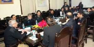 IG meeting with lahore police 12-2-13