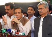 We constructed 28 small dams in Punjab, what Shahbaz Sharif has constructed ? Ch Pervaiz Elahi
